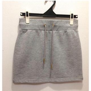 レディー(Rady)のrady  スカート スウェット ミニ丈 サイズフリー 美品(ミニスカート)
