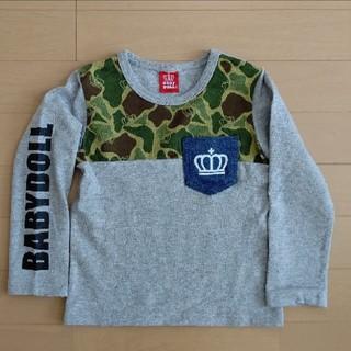 BABYDOLL - お値下げ/BABYDOLL/長袖  迷彩柄 ロンT  110cm