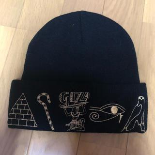 ギザ(GIZA)のgiza ニット帽 1.2度着用(ニット帽/ビーニー)