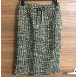 アクアガール(aquagirl)のアクアガールで購入 ツイードスカート(ひざ丈スカート)
