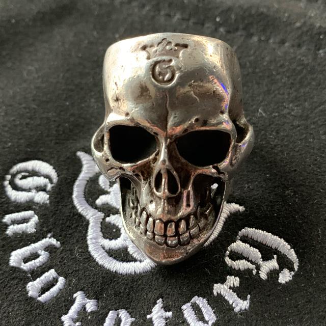 Gabor(ガボール)のガボールラージスカルアウトジョー メンズのアクセサリー(リング(指輪))の商品写真