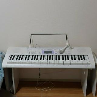 カシオ(CASIO)のcasio 電子キーボードLK-122 HIKARInavigation(電子ピアノ)