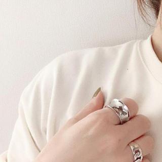 グリーンレーベルリラクシング(green label relaxing)のSimple wide ring No.57(リング(指輪))