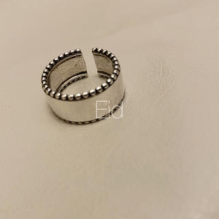 フリークスストア(FREAK'S STORE)のWide smokesilver grain ring No.252(リング(指輪))