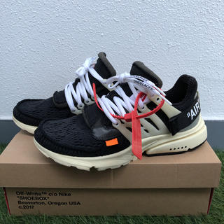ナイキ(NIKE)のnike off-white the ten air presto 25cm(スニーカー)