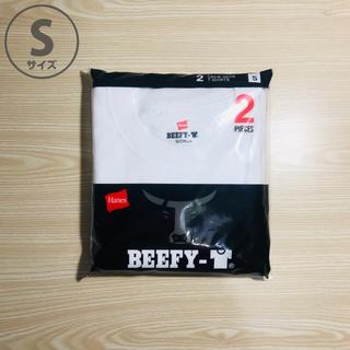 ヘインズ(Hanes)のヘインズ ビーフィー BEEFY-T クルーネック Sサイズ 2枚(Tシャツ/カットソー(半袖/袖なし))