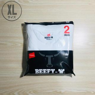 ヘインズ(Hanes)のヘインズ ビーフィー BEEFY-T クルーネック XLサイズ 2枚(Tシャツ/カットソー(半袖/袖なし))