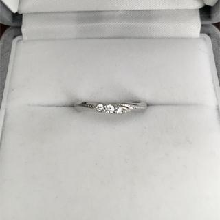 エクセルコ ダイヤモンド コロネットリング Pt900 0.058ct 3.0g(リング(指輪))
