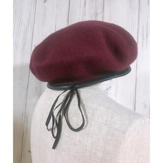 アースミュージックアンドエコロジー(earth music & ecology)のearth ベレー帽(ハンチング/ベレー帽)