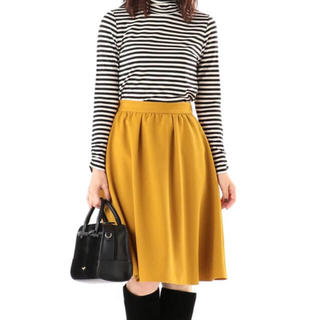 エニィスィス(anySiS)のanysis☆スカートのみ、新品未使用、ベルト付き(ひざ丈スカート)