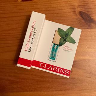 クラランス(CLARINS)のコンフォートリップオイル06ミント(リップグロス)