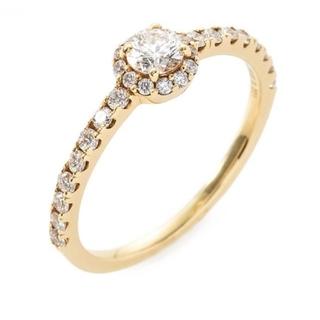 ジュピターゴールドレーベル(jupiter GOLD LABEL)のJUPITER BLANTELIE k18 リング(リング(指輪))