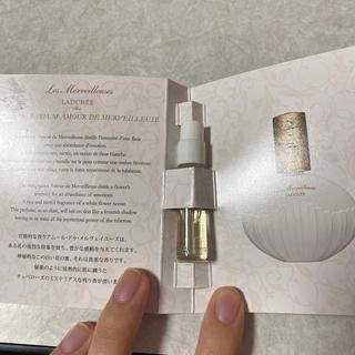 レメルヴェイユーズラデュレ(Les Merveilleuses LADUREE)のラデュレ 香水(香水(女性用))