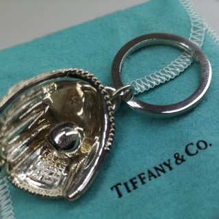 Tiffany & Co. - ティファニー TIFFANY&Co 自慢の逸品!グローブキーホルダー シルバー