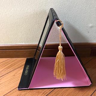 ヤクルト(Yakult)のヤクルト PARABIO マッサージカード付折り畳み鏡(ミラー)