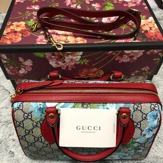 Gucci -  未使用品!!GUCCI 2way ミニボストンバッグ 保存袋 箱付き