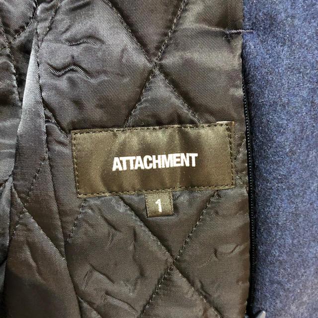 ATTACHIMENT(アタッチメント)のアタッチメント レザージャケット attachment 1 レザー 美品 メンズのジャケット/アウター(レザージャケット)の商品写真