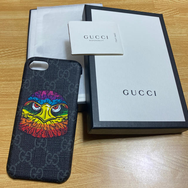 Iphone 8 ケース シルバー / Gucci - GUCCI iPhone8ケースの通販