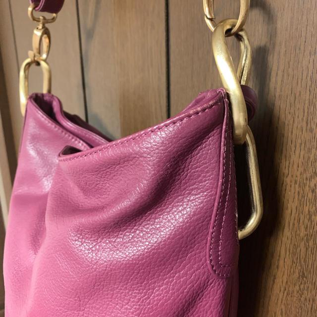 PAPILLONNER(パピヨネ)のパピヨネ パープル ショルダーバッグ レディースのバッグ(ショルダーバッグ)の商品写真