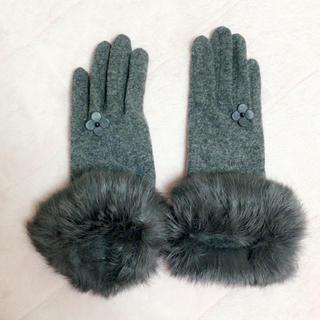アンテプリマ(ANTEPRIMA)のアンテプリマ 2wayファーグローブ スマートフォン対応(手袋)