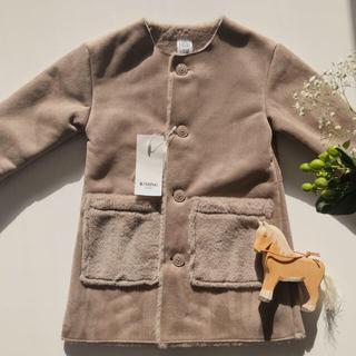 コドモビームス(こども ビームス)の【新品未使用】BEAMS Mouton coat.(コート)