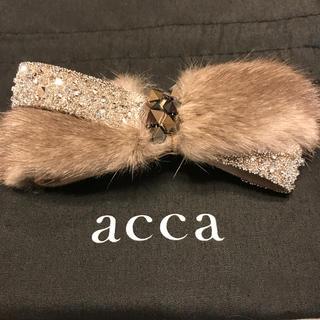 acca - acca ミンクファーバレッタ / アッカ
