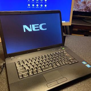 エヌイーシー(NEC)の大特価!NEC VersaPro VK18EA HDD500GB Ram4GB(ノートPC)