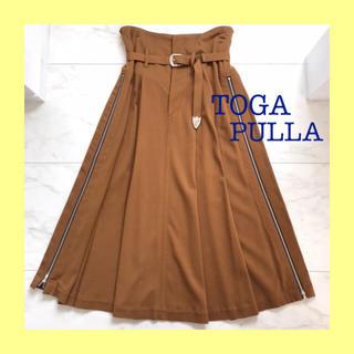 トーガ(TOGA)の【新品】TOGA PULLA スカート(ひざ丈スカート)