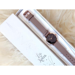 Lia Kulea 腕時計 保証書箱あり(腕時計)