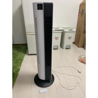 ドウシシャ PIERIAタワー扇風機 リモコン付き 美品