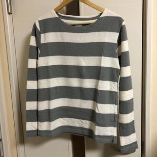 コーエン(coen)のcoen  ジャガードボーダーカットソー(Tシャツ/カットソー(七分/長袖))
