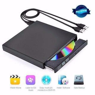 外付けCDドライブ DVDドライブ USB2.0 超薄型 (DVDプレーヤー)