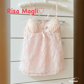 リサマリ(Risa Magli)の再値下げ✦︎新品未使用✦︎リサマリ❤︎キャミソール❤︎インナー❤︎ルームウェア(キャミソール)