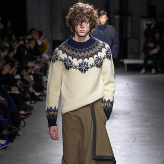 DRIES VAN NOTEN - Dries Van Noten 19aw ノルディック ニット
