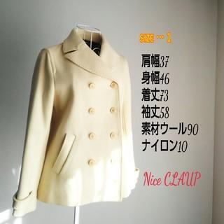 NICE CLAUP - ナイスクラップ オフホワイトコート