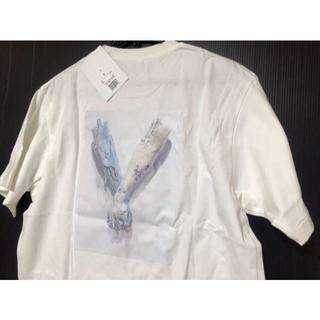 新品 ARSHAM & SORAYAMA Tee 白 XL 空山基(Tシャツ/カットソー(半袖/袖なし))