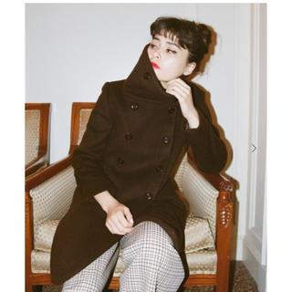 エディットフォールル(EDIT.FOR LULU)のstand collar coat 🐻(ロングコート)