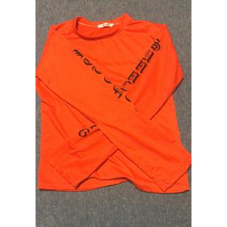 オレンジ ロンT(Tシャツ(長袖/七分))