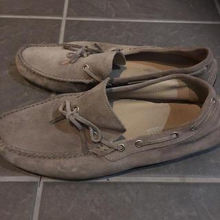 メンズ 靴 STEFANO GAMBA スエードスリッポン イタリア製サイズ40(スリッポン/モカシン)