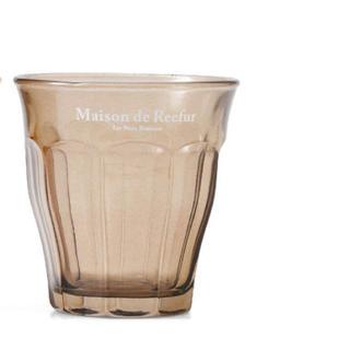 メゾンドリーファー(Maison de Reefur)のMAISON DE REEFURブラウンミニグラス(グラス/カップ)