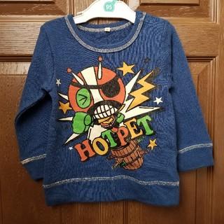 アカチャンホンポ(アカチャンホンポ)の赤ちゃん本舗 青 トレーナー ブルー 95(Tシャツ/カットソー)