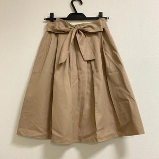 テチチ(Techichi)のTechichi テチチ リボン付きスカート/ロペピクニック vis rope(ひざ丈スカート)