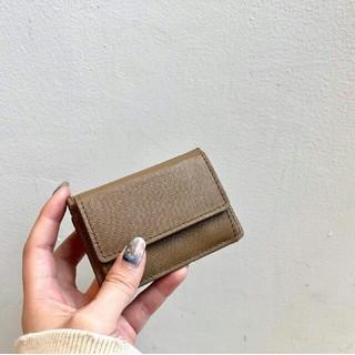 トゥデイフル(TODAYFUL)の【新品未使用】TODAYFUL Mini Leather Wallet 本革財布(財布)