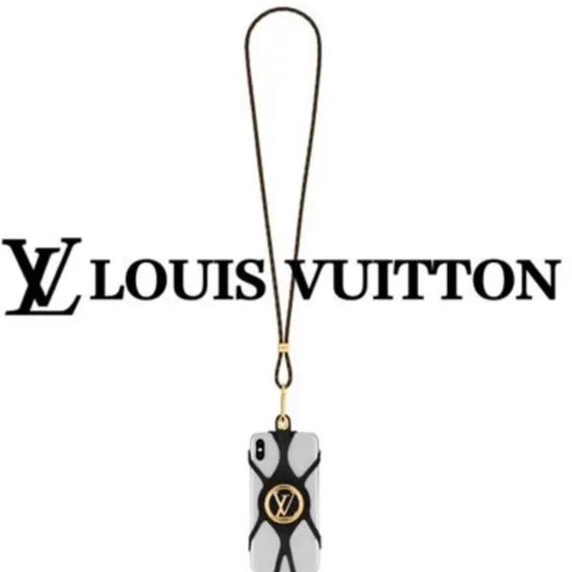 LOUIS VUITTON - 新品 LOUIS VUITTONフォンホルダー・ルイーズ スマホ ストラップの通販