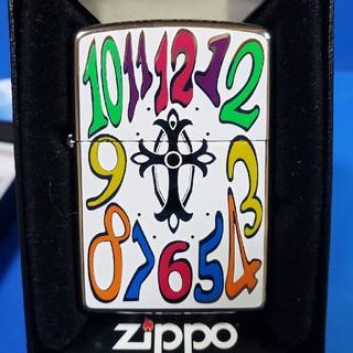 ジッポー(ZIPPO)の新品❤12J'Zippo❤#250♥ウオッチダイアル デザイン❤送料無料❤(タバコグッズ)