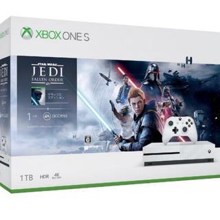 マイクロソフト(Microsoft)のXbox One S 1TB(Star Wars ジェダイ:フォールン 同梱版(家庭用ゲーム機本体)