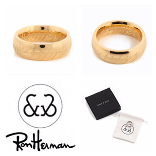 ロンハーマン(Ron Herman)のゴールドUS8(16号)ロンハーマン nobis&grey ドミナスリング(リング(指輪))