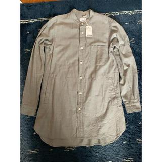 エンジニアードガーメンツ(Engineered Garments)の【値下】ts(s) Cotton Band collar long shirt(シャツ)
