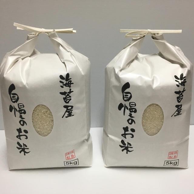 あっこ様 専用 無農薬玄米10kg,無農薬精米10kg コシヒカリ 令和元年産 食品/飲料/酒の食品(米/穀物)の商品写真