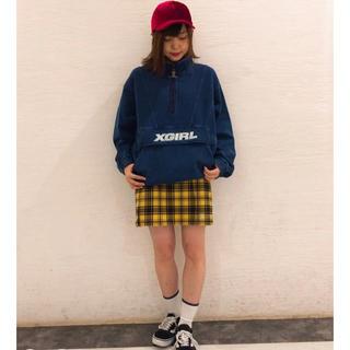 X-girl - 【さらに値下げ!】X-girl ANORAK SWEAT TOP
